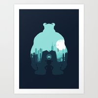 Welcome To Monsters, Inc… Art Print
