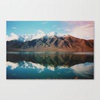 New Zealand Glacier Landscape Canvas Print