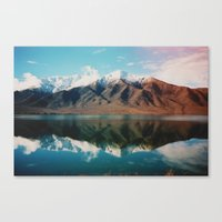New Zealand Glacier Land… Canvas Print