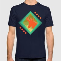 Chamois D'or Mens Fitted Tee Navy SMALL