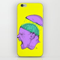 Brain Stain iPhone & iPod Skin