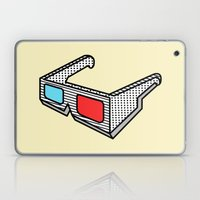 3d glasses Laptop & iPad Skin
