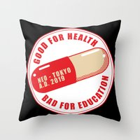 Good Medecine Throw Pillow