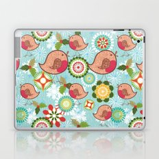 Xmas Robins Laptop & iPad Skin