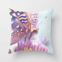 Summer Splendor Throw Pillow