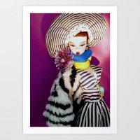 Primarily Stripes Art Print