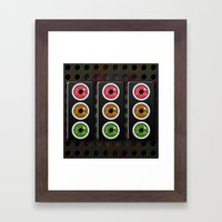 Look Both Ways.  Framed Art Print