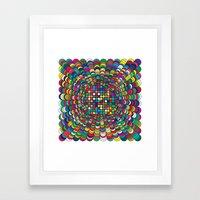 Focus Geometric Art Prin… Framed Art Print