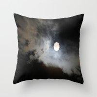 Super Moon Throw Pillow