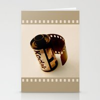 The last kodak film Stationery Cards