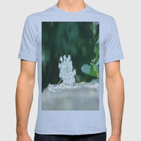 Queen Anne's Lace W/ Bok… Mens Fitted Tee Athletic Blue SMALL