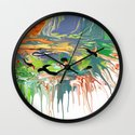 Mermaids Circling Wall Clock