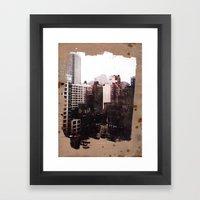 Vanished Framed Art Print