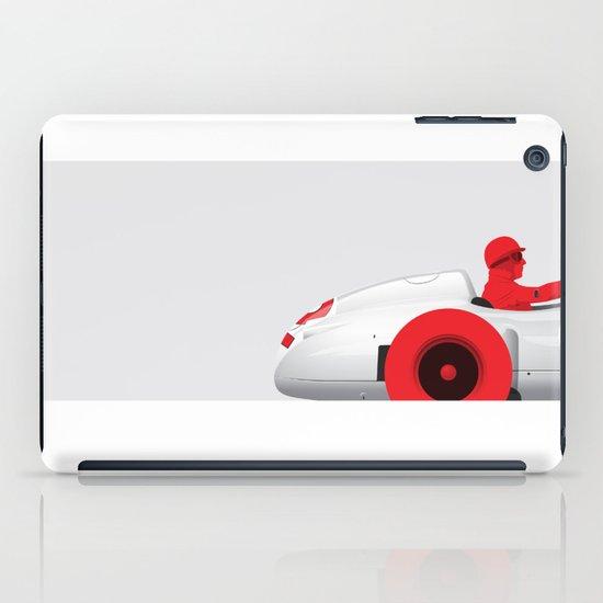 Juan Manuel Fangio, Mercedes W196, 1955 iPad Case