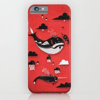 iPhone & iPod Case featuring Badasses Roaming The Skies by Jæn ∞