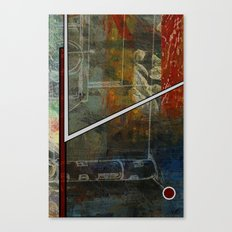 Comic Element Canvas Print