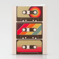 Mixed Tapes Stationery Cards