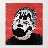 Rush Juggalaugh Canvas Print