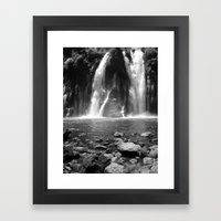 Places In Black & White:… Framed Art Print