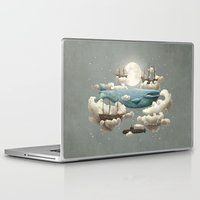 lost Laptop & iPad Skins featuring Ocean Meets Sky by Terry Fan