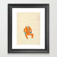 Pant Suits Are Awesome 3 Framed Art Print