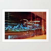 Long Exposure II Art Print