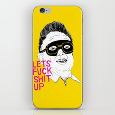 F*ck Sh*t Up iPhone & iPod Skin