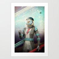Stardust To Stardust Art Print