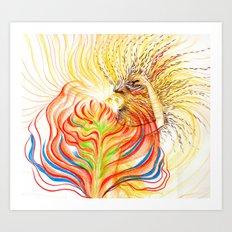 Bloom in LOVE Art Print
