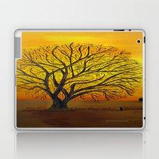 Rural sunset Laptop & iPad Skin
