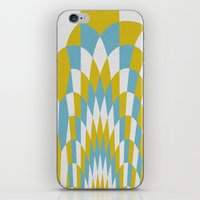 Honey Arches Yellow iPhone & iPod Skin