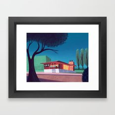 Suburbia Framed Art Print