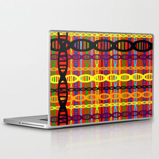 DNA Plaid Laptop & iPad Skin