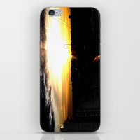 Fire In The Sky(1) iPhone & iPod Skin