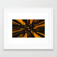 Caida Framed Art Print