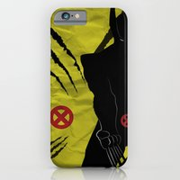 iPhone & iPod Case featuring WOLVERINE by Adam Surin Max