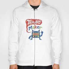 Trouble Maker - white Hoody