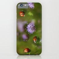 iPhone & iPod Case featuring Ladybirds.... by Ellen van Deelen