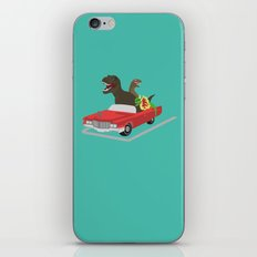 Jurassic Parking Only iPhone & iPod Skin