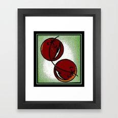 Cherry Chic Framed Art Print