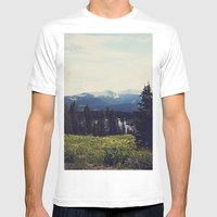 Lake Irwin Mens Fitted Tee White SMALL