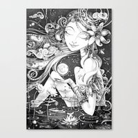Ma Bella Luna Canvas Print