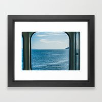 Beyond the Glass Framed Art Print
