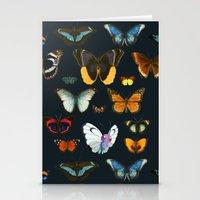 Entomology Vintage Butterfly Stationery Cards