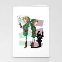 The Fairy and The Imp Stationery Cards