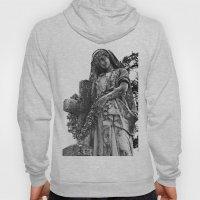 Blessed Virgin Mary Black & White Hoody