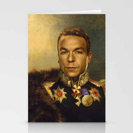 Sir Chris Hoy - replaceface Stationery Card