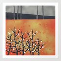 Blackthorn Art Print