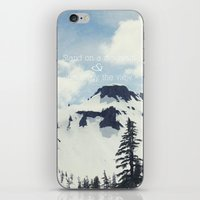 Stand On A Mountain iPhone & iPod Skin
