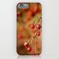 iPhone & iPod Case featuring Cranberries by ArtsyCanvasGirl Designs